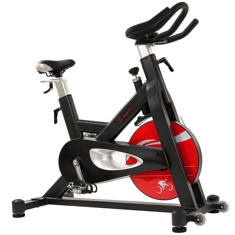 Sunny Health & Fitness SF-B1714 Evolution Pro Magnetic Belt Drive Indoor Bike