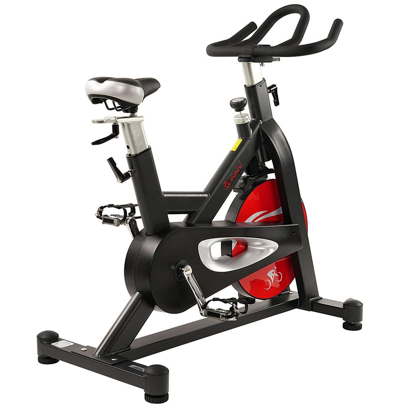 Sunny Health & Fitness SF-B1714 Evolution Pro Indoor Cycle - Rear View.