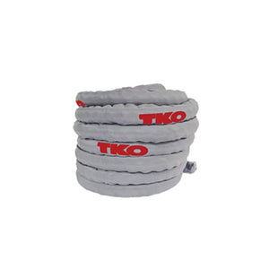 TKO Deluxe Nylon Covered Battle Rope in Gray