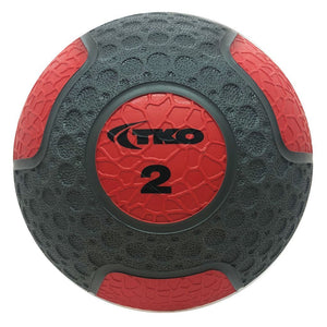 TKO 2 lb Commercial Rubberized Medicine Ball