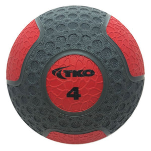 TKO 4 lb Commercial Rubberized Medicine Ball
