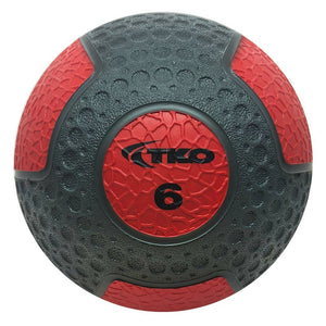 TKO 6 lb Commercial Rubberized Medicine Ball
