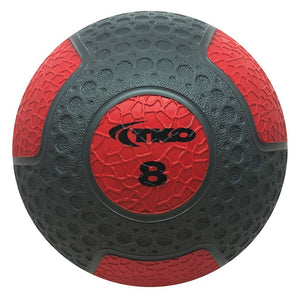 TKO 8 lb Commercial Rubberized Medicine Ball