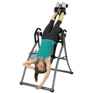 Inverting on the Teeter Contour® L5 Ltd. Inversion Table.