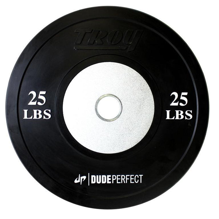 Troy Barbell Black Competition Bumper Plates