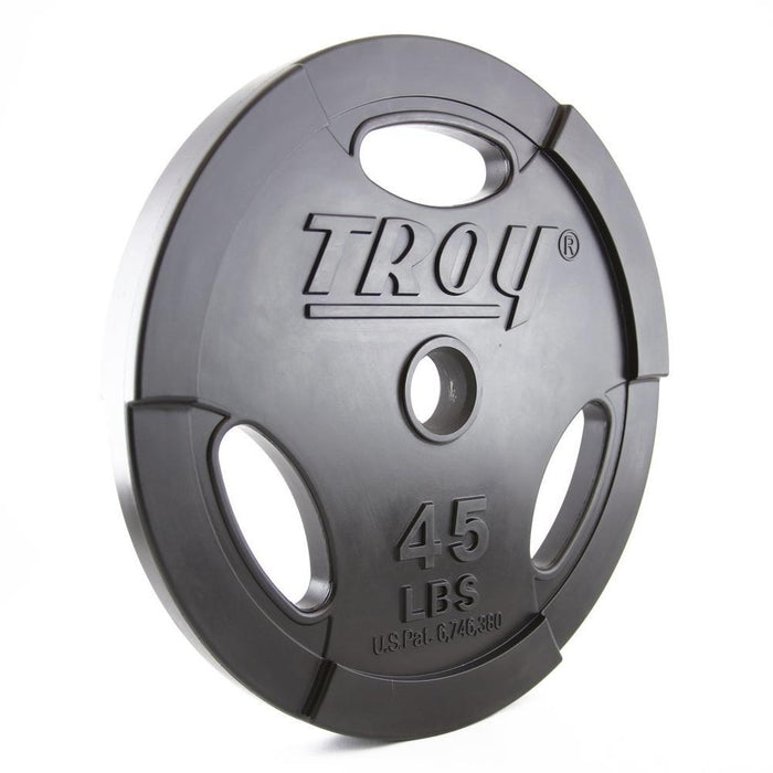 Troy GO-U Premium Urethane Interlocking Olympic Plates