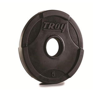 Troy GO-U Urethane Gripped Interlocking Olympic Plates