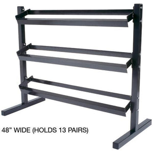 York Heavy Duty 3 tier dumbbell Rack