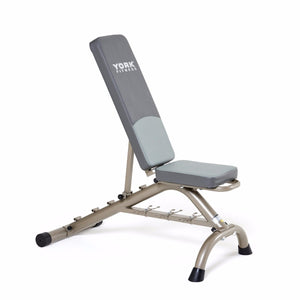 York 45071 Adjustable Bench with Fitbell Storage