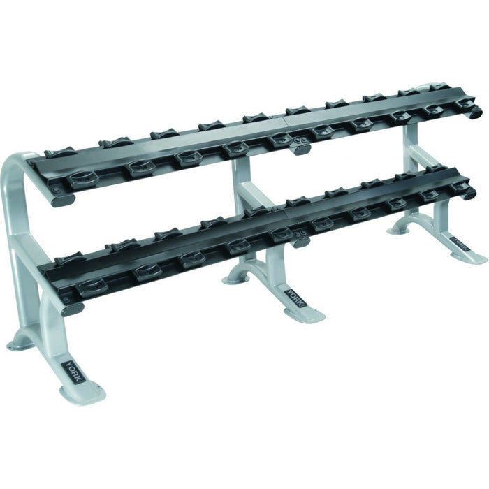 York ETS 2-Tier ProStyle Dumbbell Rack