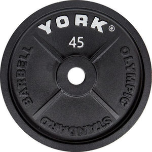 "York Classic Olympic 2"" 45 lb Plate."