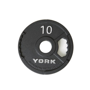 York G2 10 lb Iron Plate -455 lb Set