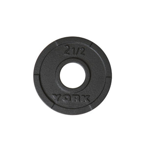 York G2 2.5 lb Iron Plate -455 lb Set