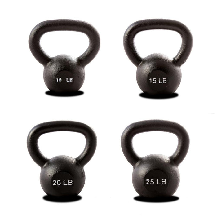 York Barbell Hercules Kettlebell Package 10 to 25 lbs