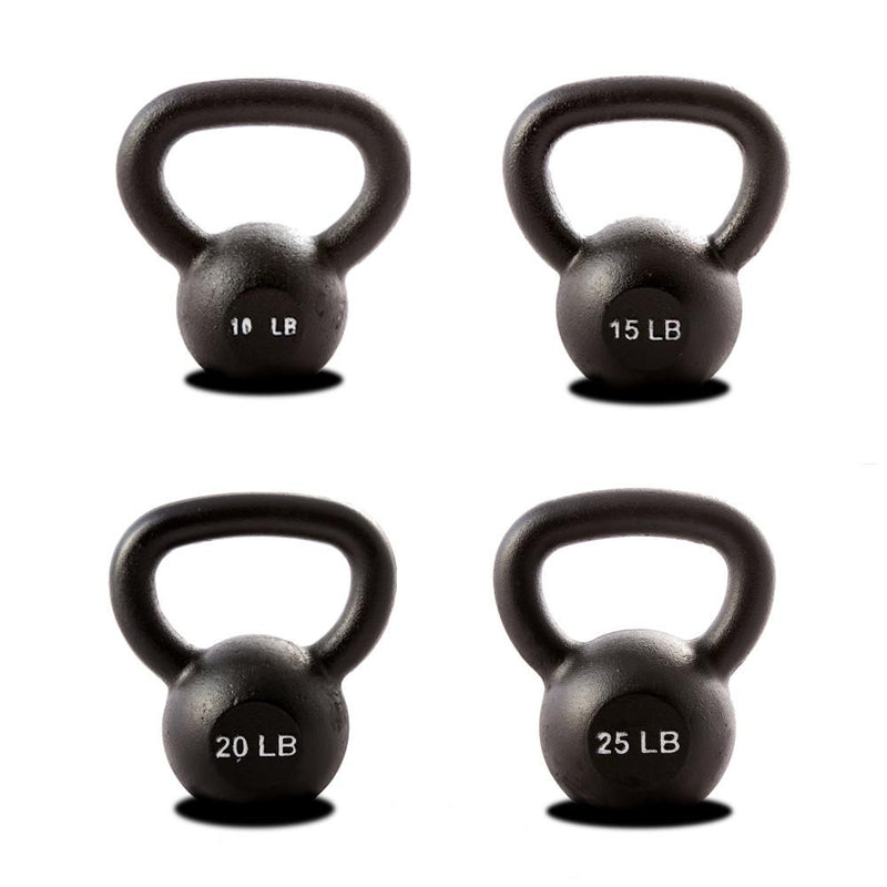 York Hercules Kettlebell Package  Single 10-15-20-25 lbs