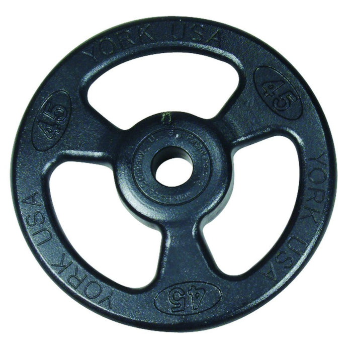 York Iso-Grip Steel Olympic Plates