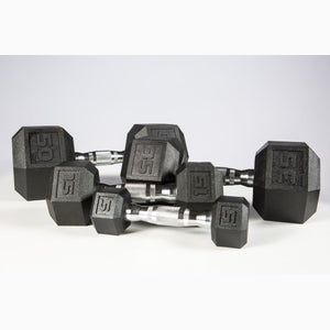 York PVC Odorless Dumbbells from 5 to 50 lbs