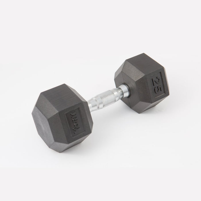 York Rubber Hex Dumbbell Sets