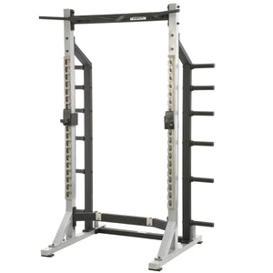 York STS Commercial Half Rack with a silver frame.