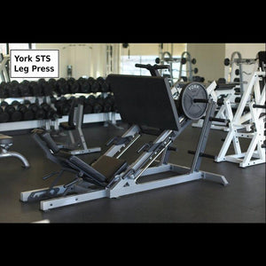 York STS 35 Degree Leg Press shown at Training Facility