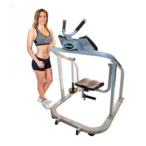 AbCoaster CTL Commercial Abdominal Machine Model Posing