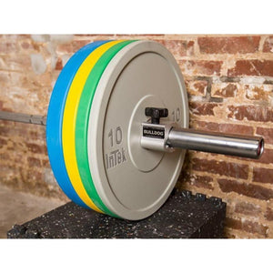 INTEK Armor Series Colored Kilogram Urethane Training Bumper Plates