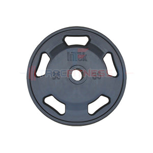 INTEK Champion Series 35 lb Rubber Olympic Plate.