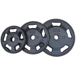 INTEK Champion Series Rubber Olympic Plates.