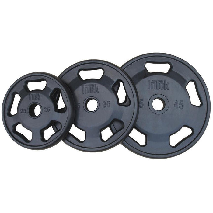 INTEK Champion Series Rubber Olympic Plates