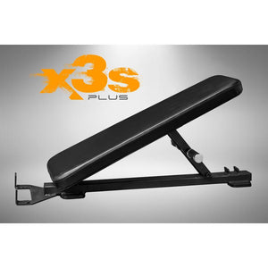ABS X3S Pro Sissy Squat Bench Back Adapter with Black Padding