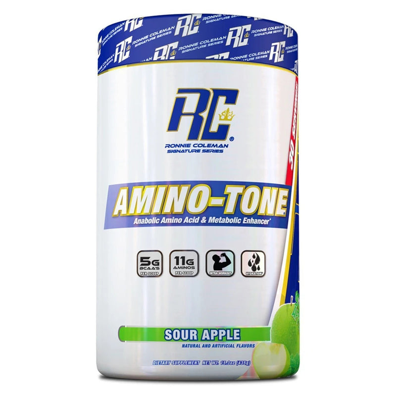 Ronnie Coleman Signature Amino Tone Sour Apple Flavor.