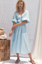 All That Remains Lia Dress Dusty Blue