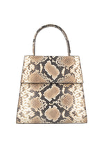 By Far Monet Bag Snake Print Leather