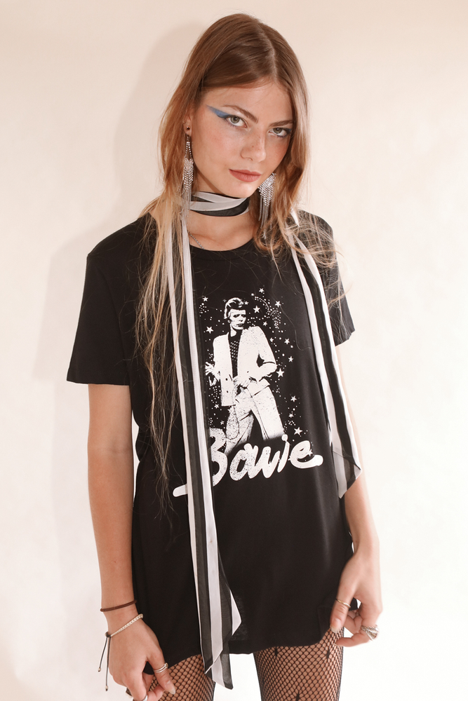 David Bowie Collection Moonlight Boyfriend Tee