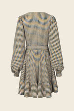 Stine Goya Farrow Dress Orange Gingham