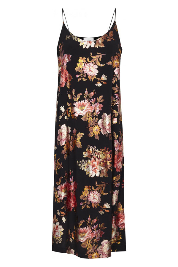 Just Female Aliya Strap Floral Maxi Dress