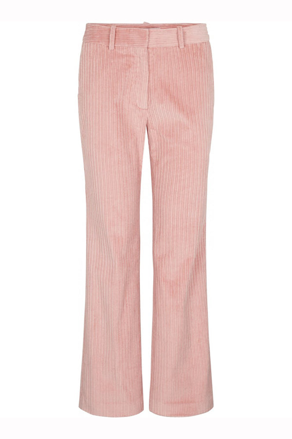 Just Female Corduroy Trousers Bridal Rose