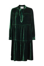Just Female Juliette Velvet Midi Dress