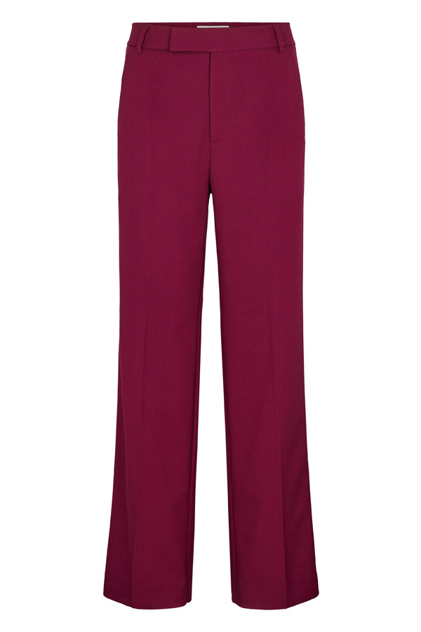 Just Female Max Trousers Magenta