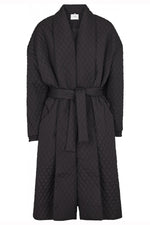 Just Female Quilted Maxi Coat