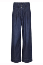 Just Female Roksan Wide Leg Denim Trousers