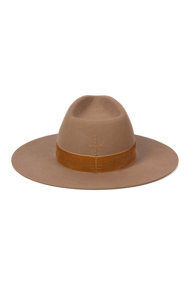 Lack of Color Benson Tri Brown Teak Hat