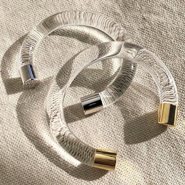 Lady Grey Mirage Lucite Bracelet