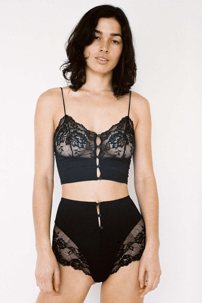 Lonely Lingerie Hollie Cami Black