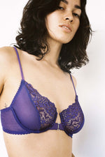 Lonely Lingerie Lilou Underwire Bra Violet