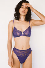 Lonely Lingerie Lilou High Waist Panty Violet