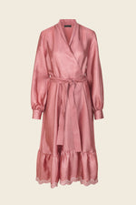 Stine Goya Niki Wrap Dress Rose