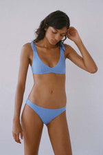 Paloma Wool Diablito Two Piece Bikini Soft Blue Swim
