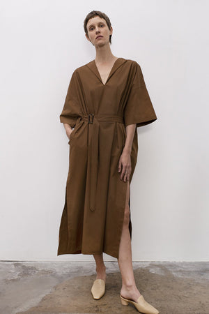 Load image into Gallery viewer, Shaina Mote Avignon Dress Tobacco Dresses