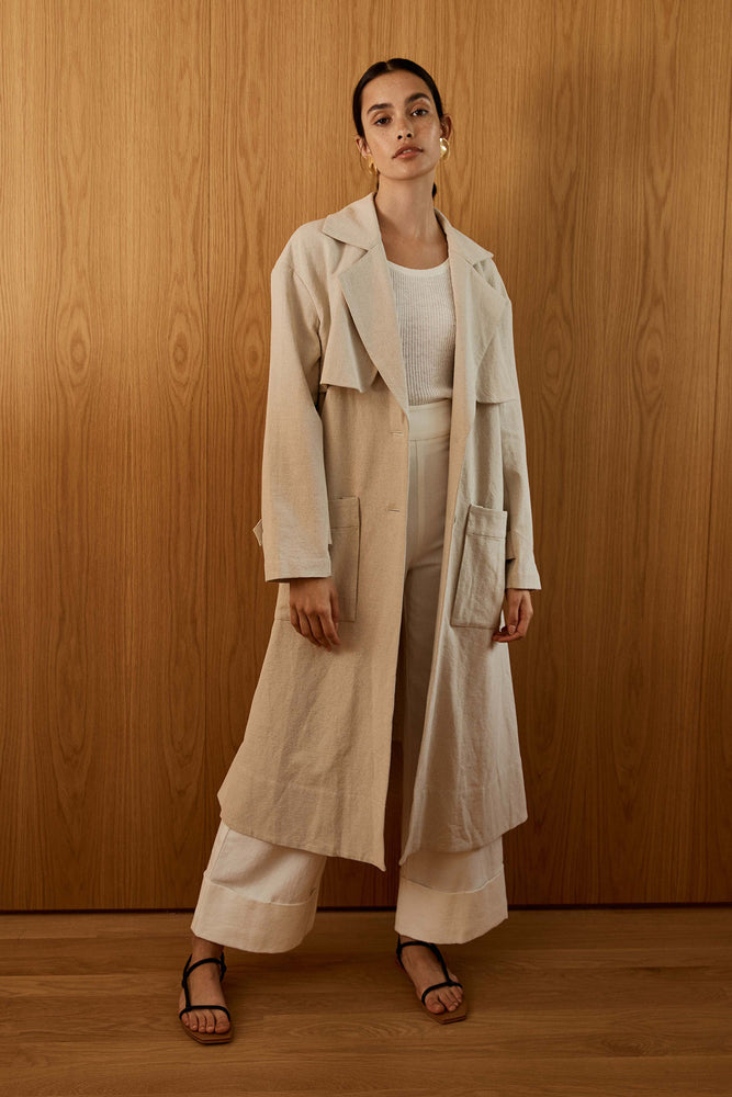 St. Agni Neda Trench Coat